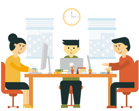 Team work in office or start up