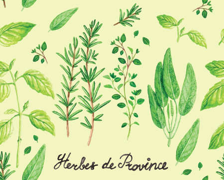 thyme: Cute floral  pattern for greeting cards and posters
