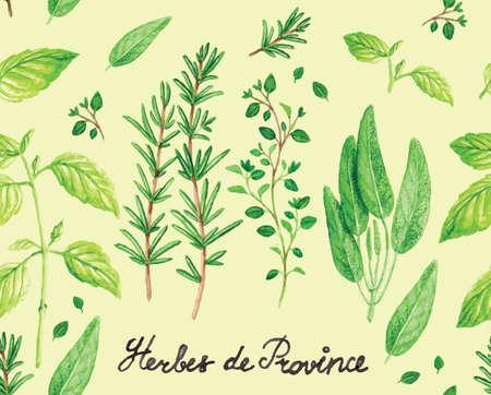 tomillo: Estampado de flores lindo de tarjetas de felicitación y carteles