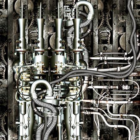 Fantasie-Maschine Standard-Bild - 25410140
