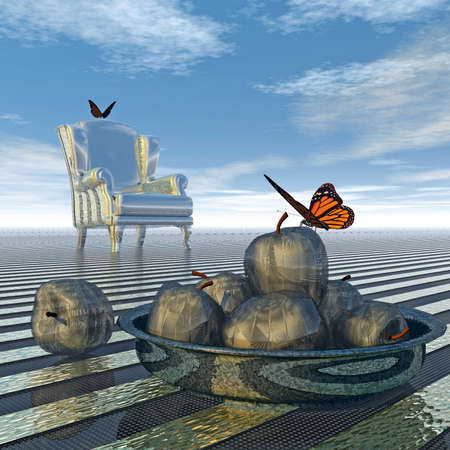 connectedness: Butterflies meet at the armchairs