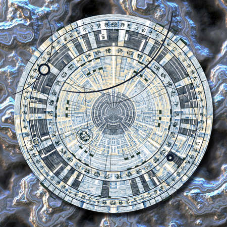 Astrological disc