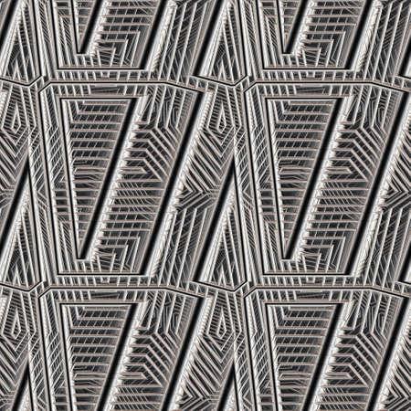 stil: Metal Background Pattern, Techno (Seamless-Tiling) Stock Photo