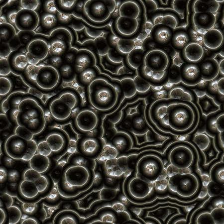 unbalanced: Background pattern metallic, shiny circles and unbalanced