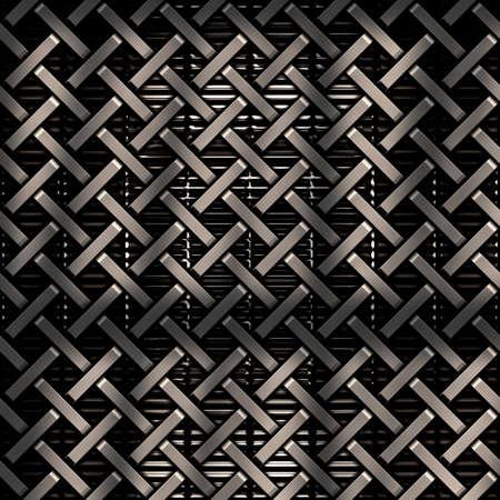 meshy: Heavy metal grid background in dark colors
