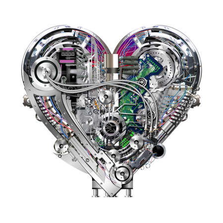 A technically mechanical heart at hardwork