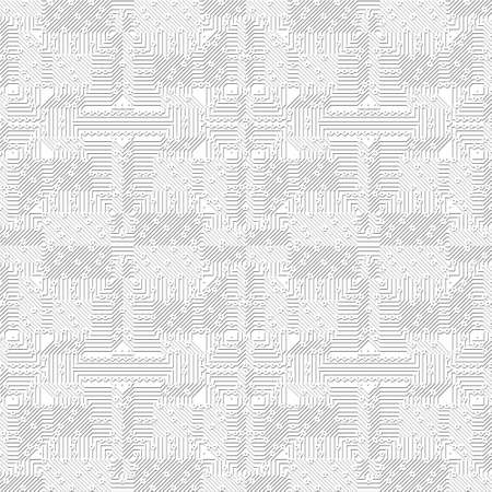 structured: A bright background pattern with electronic circuit (seamless tiling)