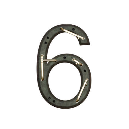 six objects: Number technically, six