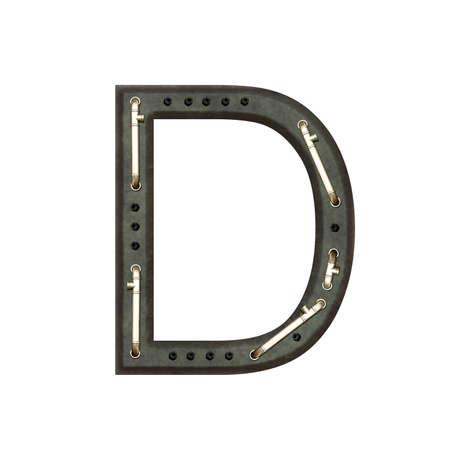 technically: Alphabet technically, Letter D