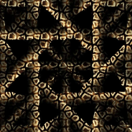For background with geometric pattern, seamless tiling photo