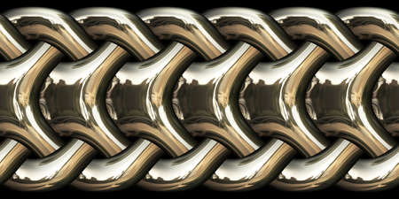 chain links: Elegant chain links made of gold, close-up