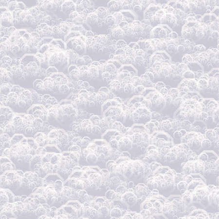 octogonal: Patrón de fondo brillante con formas octogonales sin azulejos