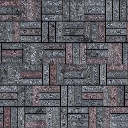 modern interior design: An imaginative tile pattern, seamless tiling
