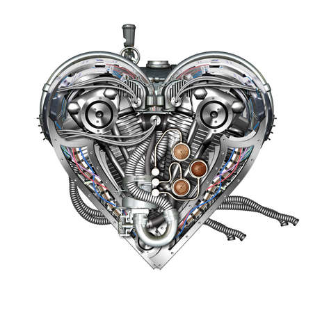 originality: A technically mechanical heart at hard work