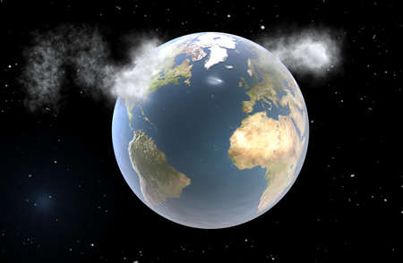 pollutant: Pollutant emissions Stock Photo