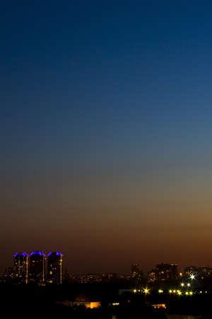 Clear night sky Stock Photo - 21579862