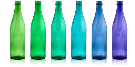 colored bottles  photo