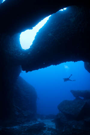 Buceo en cuevas