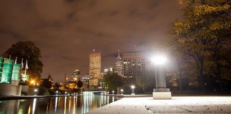 indianapolis: Indianapolis at Night