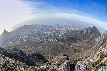 table mountain national park: Table Mountain