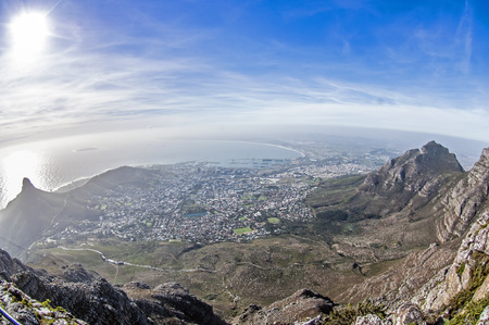 on the table: Table Mountain