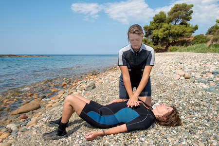 First aid training for Scuba divers