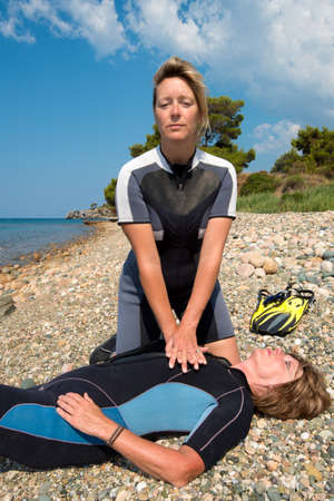 diving save: First aid training for Scuba divers