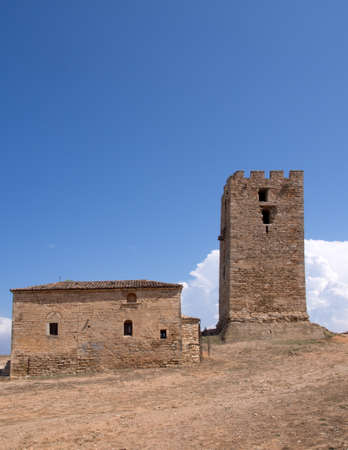 apostle paul: Byzantine  Church and tower to the Apostle Paul