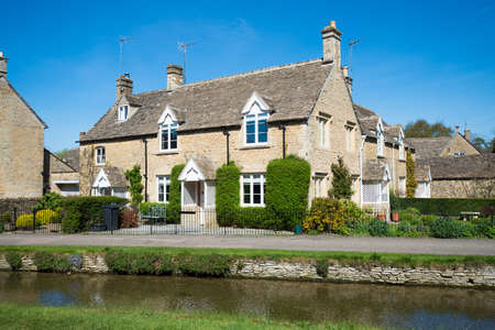 cotswold: Cottages in the beautiful Cotswold village of Lower Slaughter