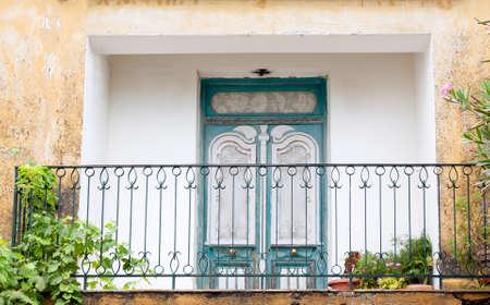 resplendence: Old ornate balcony