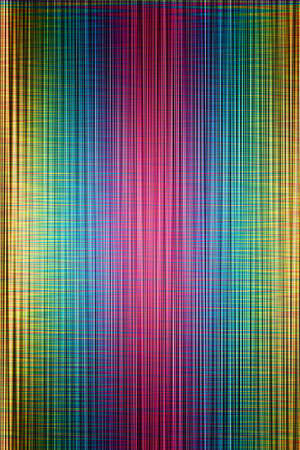 Bright mix of coloured stripes photo