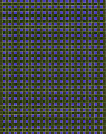 reapeating: Different colored squares in a reapeating pattern