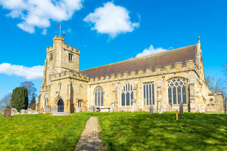 laurence: St Laurence Church in the village of Hawkhurst, Kent,UK. Stock Photo