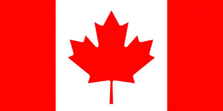 canadian flag: Illustration of the Canadian Flag