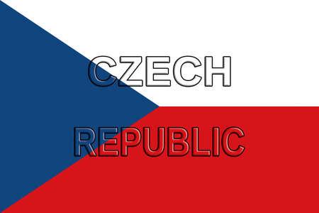 writting: Flag of the Czech Republic Word by Roy pedersen.                             www.roypedersenphotography.com                   The Czech Republic also known as Czechia is a country  in Central Europe. It was formerly part of the USSR and was known as Czech