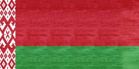 sovereignty: Illustration of the flag of Belarus Grunge