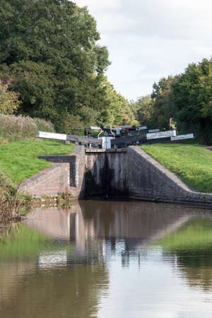 Two of the  Tardebigge Canal Locks.