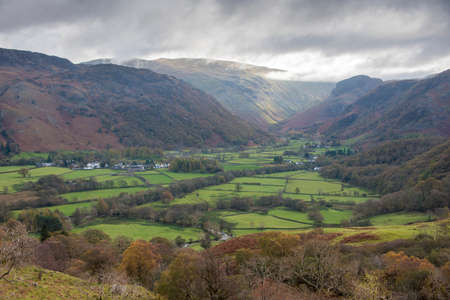 The Valley of Borrowdale by Roy Pedersen. www.RoyPedersenPhotography.com Borrowdale Valley lies in the English Lake District national park in the county of Cumbria,UK. Borrowdale runs as a valley along the edge of Derwent Water. It runs for some ten miles from the high fells, with 977m Scafell Pike the highest summit, down to the shores of Derwentwater.