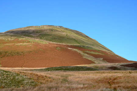 Looking up at mellbreak Fell from the southern end near Scale Knott.