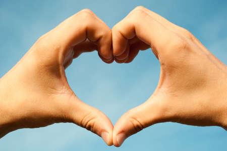 Serce dokonane rÄ…k  Zdjęcie Seryjne