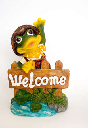 Frog welcome you