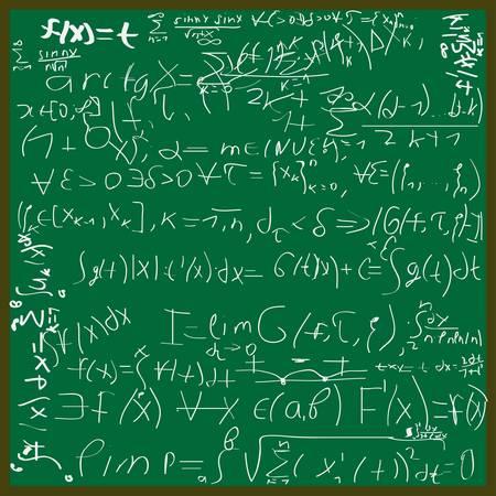 Ilustracja tła matematyczne