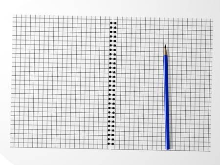 cuaderno espiral: Vector Pretty espiral port�til con l�piz