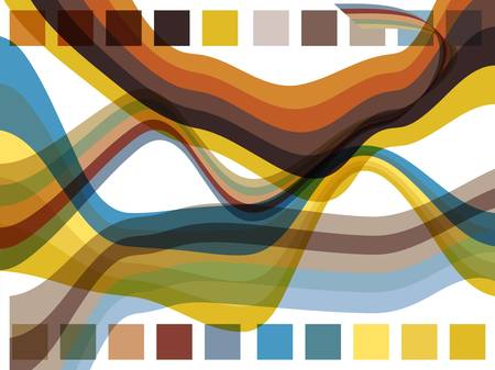 Abstract background composition Illustration