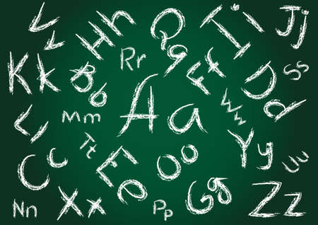 Seamless Alphabet Background Stock Photo - 8058367