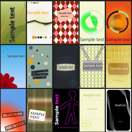 largest: A largest collection of various business card designs
