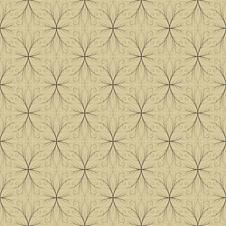 Seamless both side Damask wallpaper. EPS 8- vector Stock Vector - 8123536