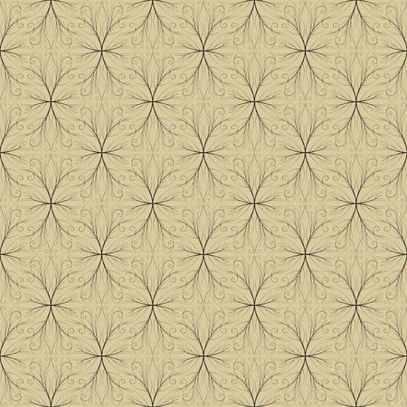 both: Seamless both side Damask wallpaper. EPS 8- vector