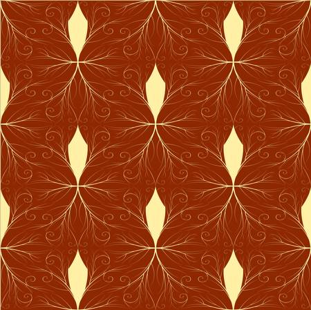 Seamless both side Damask wallpaper. EPS 8- vector Stock Vector - 8123481