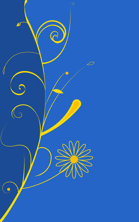 abstract floral background. Vector, Eps - 8.